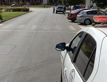 Copil de 7 ani, la UPU Slatina, după ce a fost lovit de mașina condusă de un bărbat din Grădinile, în centrul Slatinei